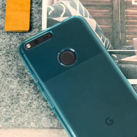 check out olixar flexishield google pixel gel case light blue external battery Jackery