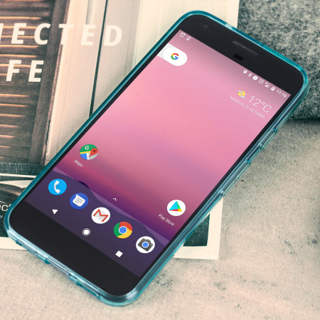 genuinely olixar flexishield google pixel gel case light blue initially arrives