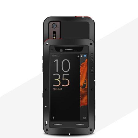 Love Mei Powerful Sony Xperia Xz Protective Case Black