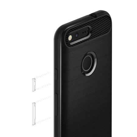 Caseology Vault Series Google Pixel XL Case - Matte Black