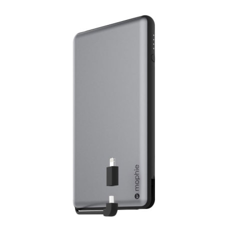 mophie powerstation plus xl 12 000mah power bank space grey. Black Bedroom Furniture Sets. Home Design Ideas