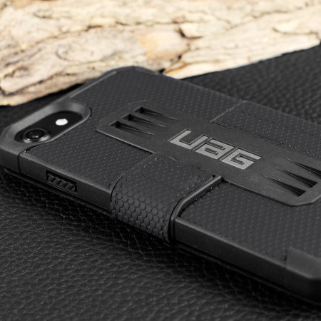 UAG Metropolis Rugged iPhone 8 / 7 Wallet Case - Black