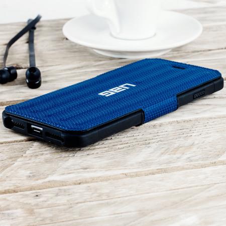 love the uag metropolis rugged iphone 7 plus wallet case cobalt blue can't