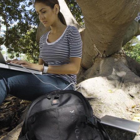 Kanex GoPower USB-C MacBook Portable 15000mAh Power Bank - Space Grey