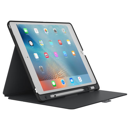 Speck StyleFolio Pencil iPad Pro 12.9 2015 Case - Black / Grey
