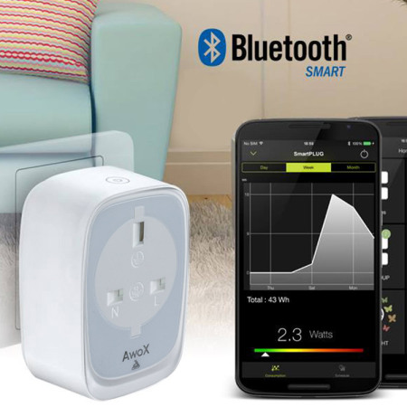 Awox SmartPLUG Bluetooth Smart Power Adapter