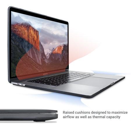 "Olixar ToughGuard MacBook Pro 15"" Case (2016 To 2017) - Black"