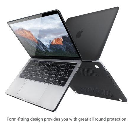 Olixar ToughGuard MacBook Pro 13 Touch Bar Hülle in Schwarz