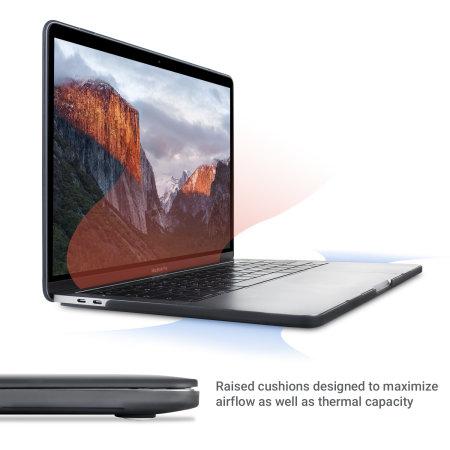 "Olixar ToughGuard MacBook Pro 13"" Case (2016 To 2018) - Black"