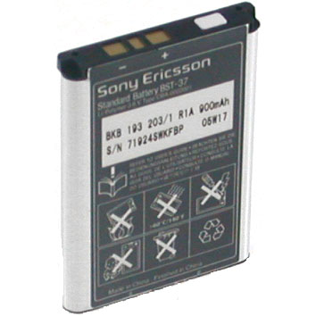 BATTERY for SONY ERICSSON BST-37