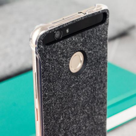 timeless design 1dd66 42b55 Official Huawei Nova Protective Fabric Case - Grey