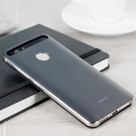 Official Huawei Nova Leather-Style Flip Case - Grey