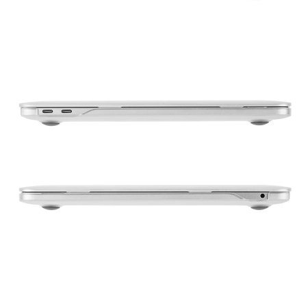 their devices moshi iglaze macbook pro 13 with touch bar hard case clear was