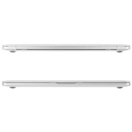 external moshi iglaze macbook pro 13 with touch bar hard case clear checkoff list