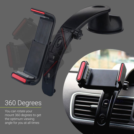 Olixar multi position universal smartphone car holder black