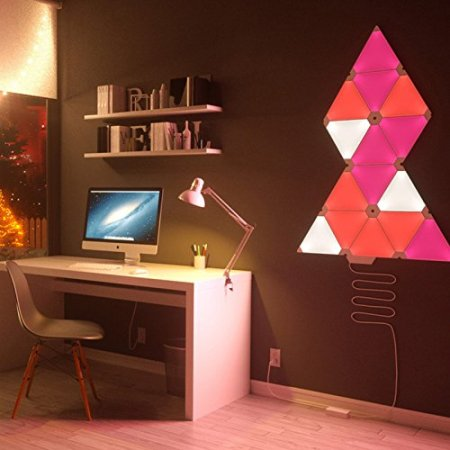 Nanoleaf Aurora Smarter Led Expansion Pack 3 Smart Panels