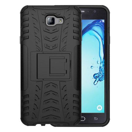 Custodia Olixar ArmourDillo per Samsung Galaxy J7 Prime - Nero