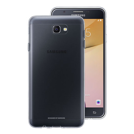 new product 3a6cc c35b9 Official Samsung Galaxy J7 Prime Clear Cover Case