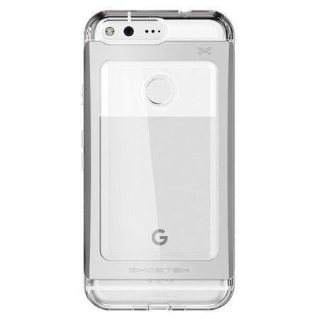 ghostek cloak 2 google pixel aluminium tough case clear black will immediately