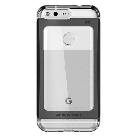 Ghostek Cloak 2 Google Pixel XL Aluminium Tough Case - Clear / Black