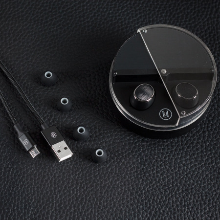 Uunique Freedom Wireless Bluetooth Ear Buds - Black