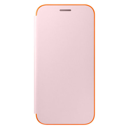 Official Samsung Galaxy A5 2017 Neon Flip Cover Case - Pink