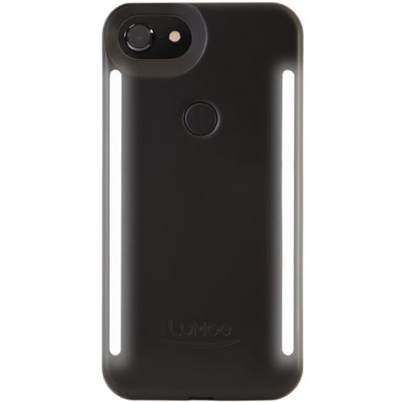 LuMee Duo iPhone 7 / 6S / 6 Double-sided Lighting Case - Black