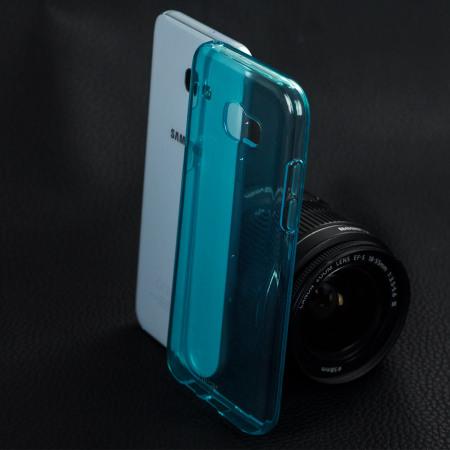 Olixar FlexiShield Samsung Galaxy A5 2017 Gel Case - Blue