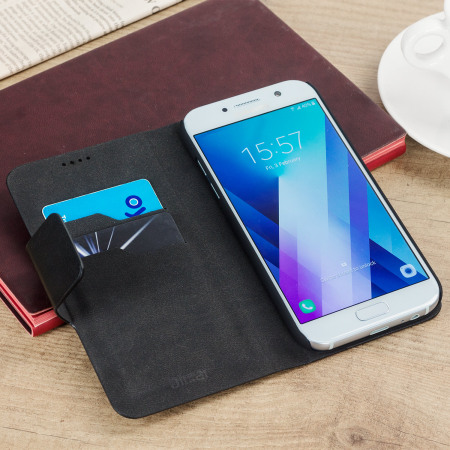 olixar leather style samsung galaxy a5 2017 wallet case brown 1 know covers