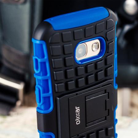Olixar ArmourDillo Samsung Galaxy A3 2017 Tough Case - Blue