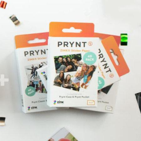 40 Sheets for Print Case /& Prynt Pocket PRYNT Sticker Paper