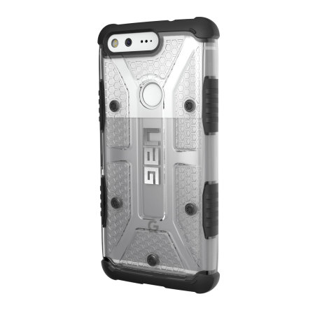 uag plasma google pixel protective case ice black may also release