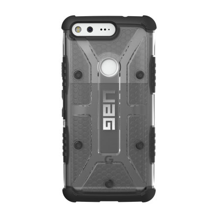 the two uag plasma google pixel protective case ash black micro