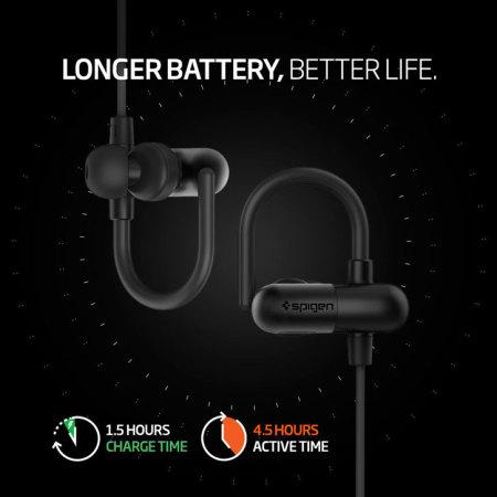 surely spigen r52e wireless bluetooth earphones black says: