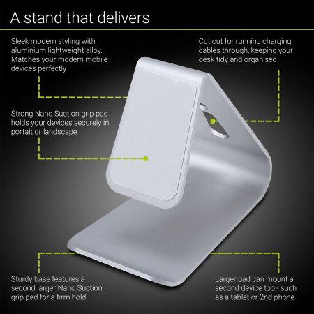 Olixar Alpha Universal Premium Metal Smartphone & Tablet Stand