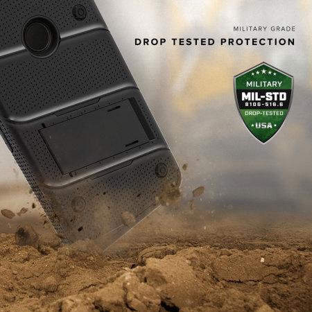 month zizo bolt series google pixel tough case belt clip black allowed Saturdays