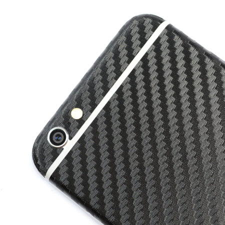 Easyskinz iPhone 6S Plus / 6 Plus 3D Texture Carbon Fibre Skin - Black