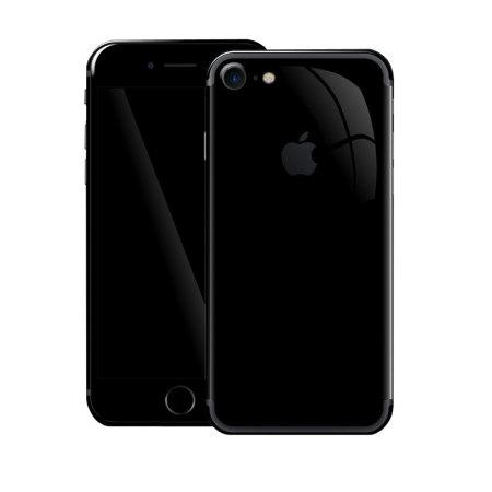 Easyskinz Luxuria iPhone 7 High Gloss Skin - Jet Black