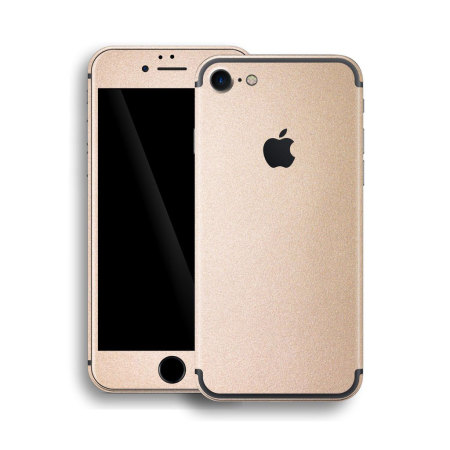 Easyskinz Luxuria iPhone 7 Metallic Skin - Rose Gold