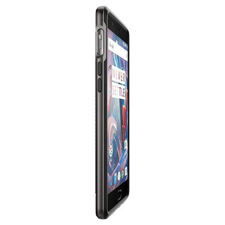 Spigen Neo Hybrid OnePlus 3T / 3 Deksel - Gunmetal