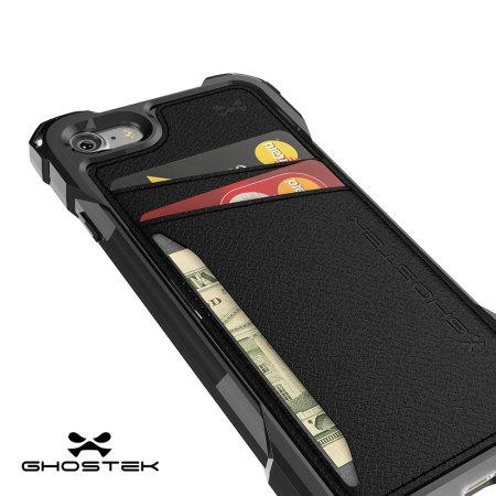 Ghostek Exec Series iPhone 7 Wallet Case - Black