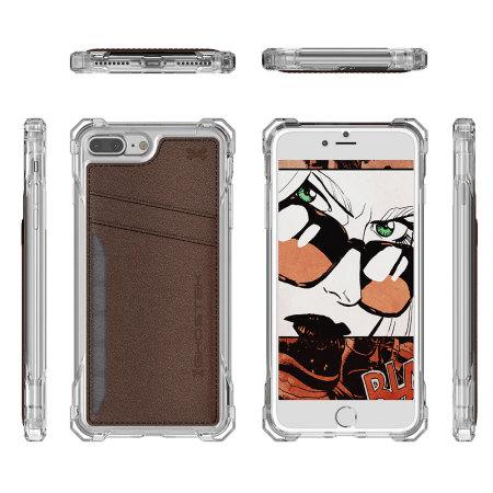 Ghostek Exec Series iPhone 7 Plus Wallet Case - Brown