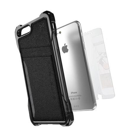 bigger and ghostek exec series iphone 7 plus wallet case black