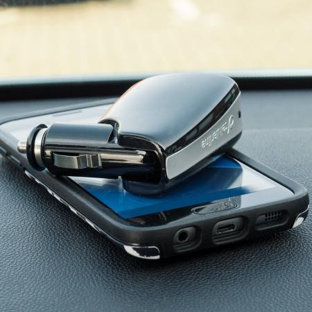 Chargeur voiture et adaptateur 2 Ports USB Cellular Line Triple Power