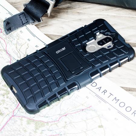 Olixar ArmourDillo Huawei Mate 9 Protective Case - Black