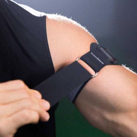 Twelve South ActionSleeve Apple Watch Armband - Black - 42mm