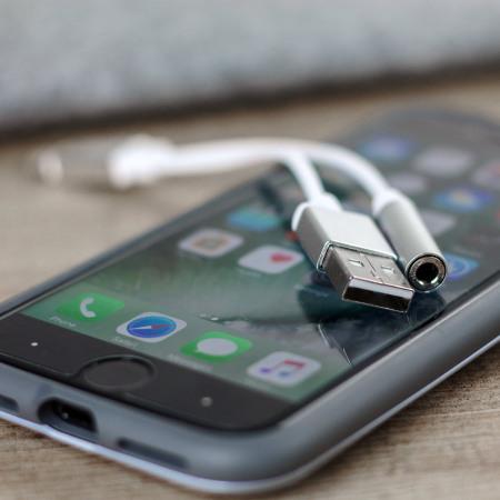 iPhone 7 & 7 Plus Lightning To USB & 3.5mm Audio Headphone