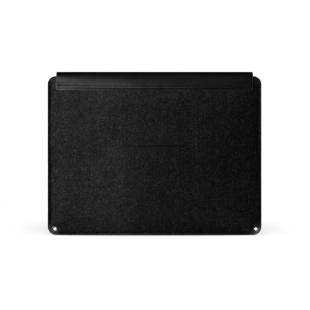 Mujjo MacBook Pro 15 with Touch Bar Genuine Leather Sleeve - Black