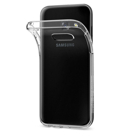 coque samsung galaxy a3 2017 spigen liquid crystal transparente. Black Bedroom Furniture Sets. Home Design Ideas