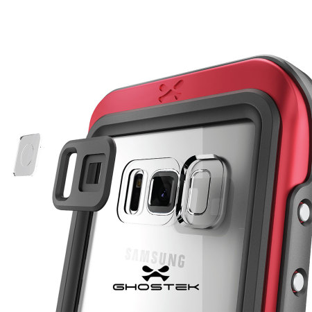 buy online 428a1 dc3db Ghostek Atomic 3.0 Samsung Galaxy S8 Waterproof Case - Red